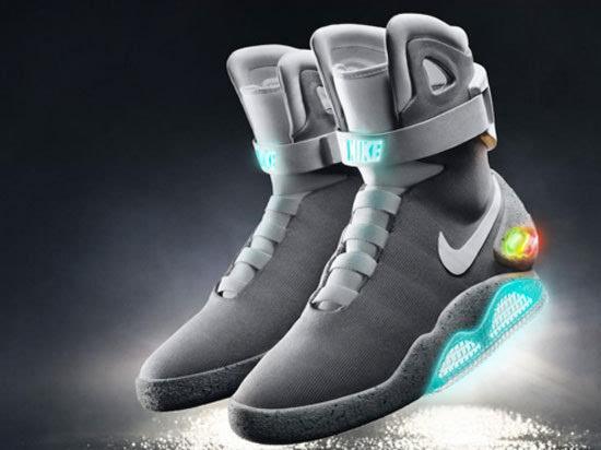 耐克发布自动系鞋带 智能鞋 未来或能普及