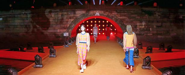 """淘宝造物节断桥首办时装秀,杭州再添""""时尚之都""""新名片!"""